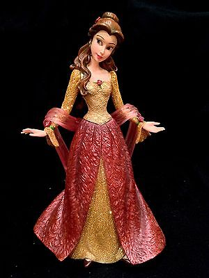 Holiday Belle Couture de Force Figurine- Disney's Beauty & the Beast+Chip!  NIB!
