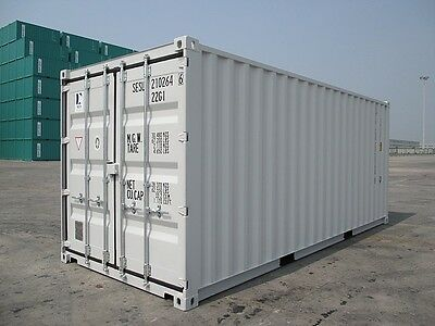 20FT NEW build Shipping Container - ex MELB