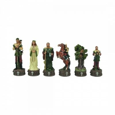 Chess figures - stone ground - Robin Hood - Kings height 80mm