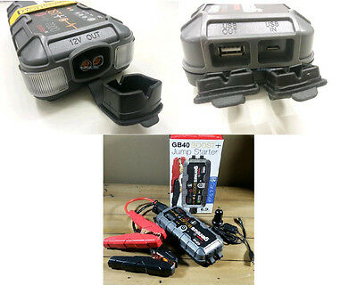 BOOSTER GENIUS GB40 BY NOCO (Back-Up USB Power Supply)FOR  MOTO/AUTO/QUAD/ATV