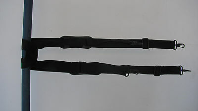 Law Enforcement Officer Police Duty Belt Padded Suspenders. Excellent Quality