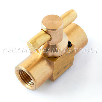"1/4"" Shut-Off Ball Valve for Truckmount Carpet Cleaning 3000 PSI"