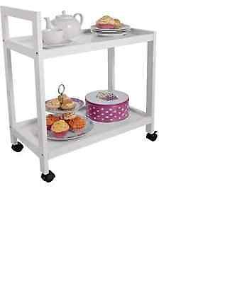 Useful Perfect Living White Tea Trolley
