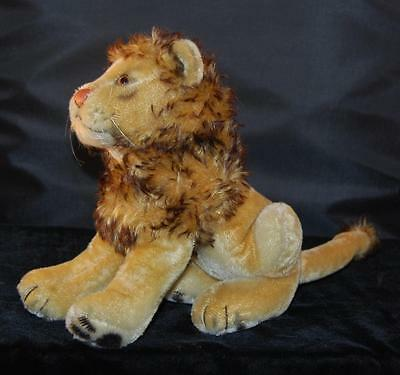 "Vintage Steiff Lion ""Leo""  8.5""H / 22cm - no Button or Tag - Excellent"