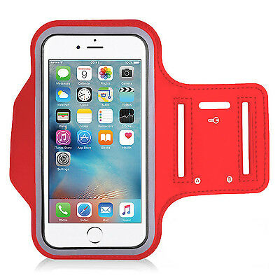iPod Touch Premium Neoprene Armband Red 4th,5th,6th Generation Running