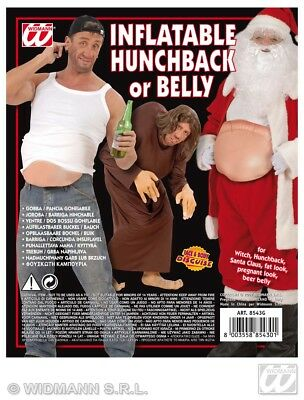 Fancy Dress Inflatable Belly Fake Santa Tummy Fat Pregnant Hunchback Beer