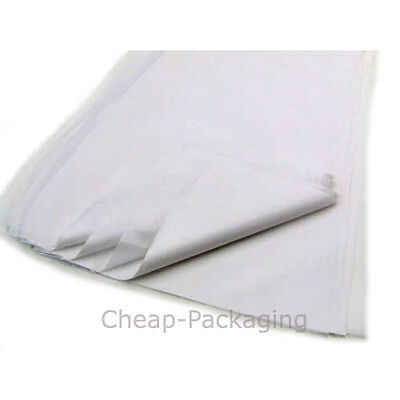 500 Sheets Of White Tissue Paper Acid Free 375x500mm