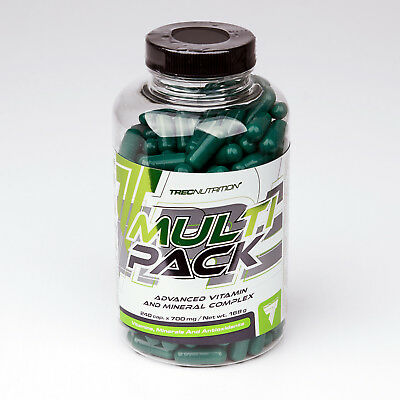 Multipack 60-300 Caps. Multivitamin Multimineral Food Supplement High Benefits