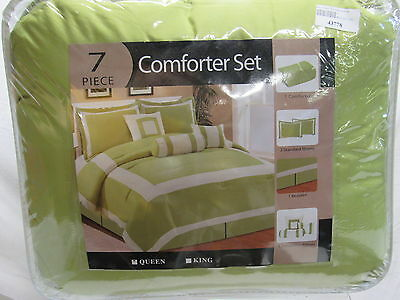 Roll over image to zoom in 7 Piece Soho Hotel Collection Comforter Set