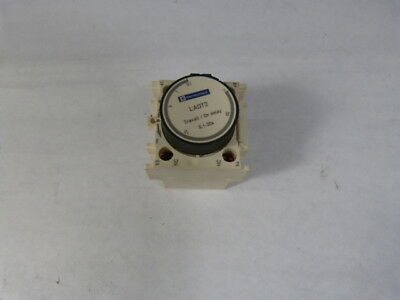 Telemecanique LAD-T2 Auxiliary Contact Time Delay 0.1-30S  USED