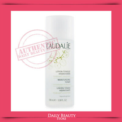 Caudalie Moisturizing Toner Toning Lotion 3.4oz Travel NEW FASTSHIP