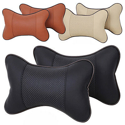 1 Pcs Pretty Hole-Digging Car Headrest Supplies Neck Auto Safety Pillow