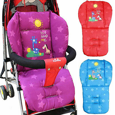 Baby Stroller PRETTY Child Cart Seat Cushion Pushchair Mat 0-36 M Baby Pad