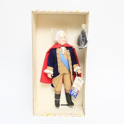 Effanbee Doll George Washington 16Atl013-173 Plastic Figure 1984 Boys & Girls