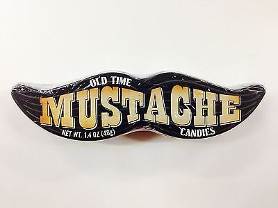 OLD TIME MUSTACHE CANDIES - 40g