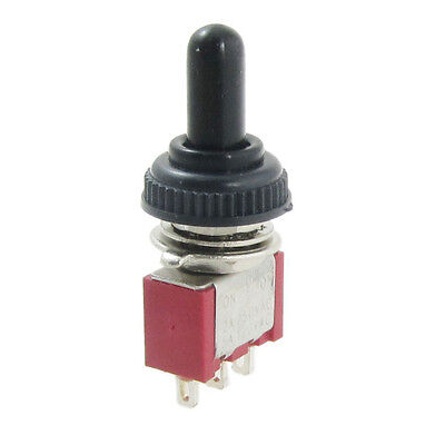 WS 5X AC 250V 2A 120V 5A on/off/on Momentary SPDT Toggle Switch w/ Waterproof B
