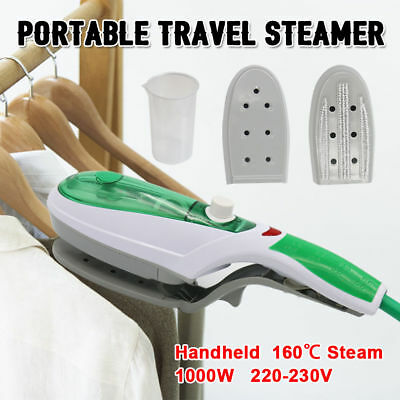 Travel Handheld Iron Clothes Steamer  Portable Hand Held Garment Steam Brush NEW