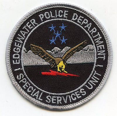 EDGEWATER COLORADO CO Special Services Unit SWAT POLICE PATCH
