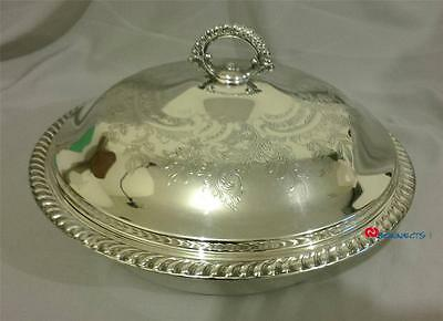 Outstanding Antique Wm. A. Rogers Silverplate Covered Server