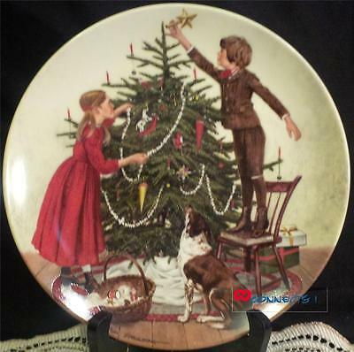 Edwin M Knowles Don Spaulding Christmas Plate