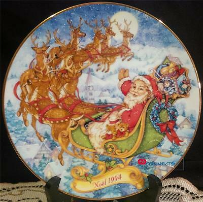 Avon Canada Christmas 1994 Special Christmas Delivery Plate