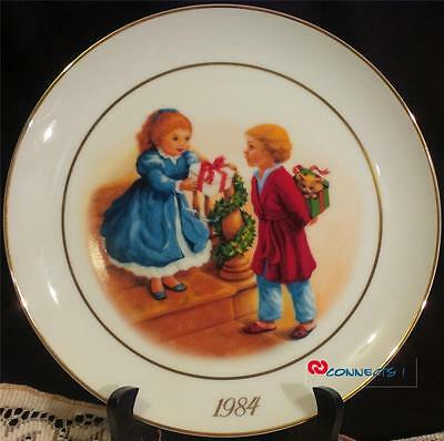 Avon Canada Christmas 1984 Celebrating The Joy Of Giving Plate
