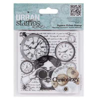 Docrafts Papermania Urban Stamp Chronology – Looking Glasses New