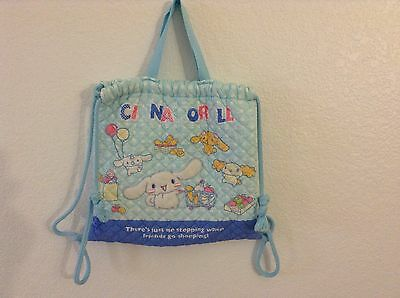 Cinnamoroll Bag Sanrio Hello Kitty Backpack / Bag Quilted Cotton