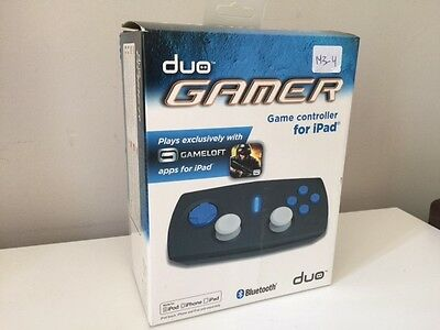 Duo Gamer Game Controller for Ipad / Gameloft Apps - NEW