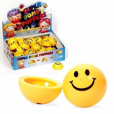 German Trendseller® - 4 x Smiley Hüpfer Springer ┃Kindergeburtstag┃Kinder┃Party