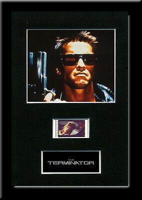 The Terminator Framed 35mm Mounted Film cells - movie memorabilia collectable