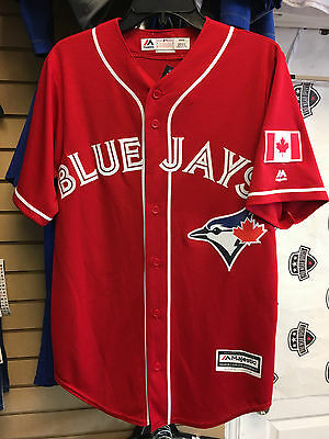 Toronto Blue Jays XL 2016 Cool Base Canada Day Jersey