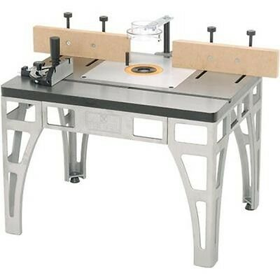 Heavy Duty Cast Iron Steel Metal Router Table Wood Shaper Shaping Tool Stand Jig