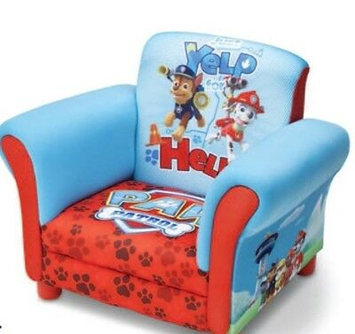 New Paw Patrol Chase Marshall Rubble Upholstered Chair armchair sofa