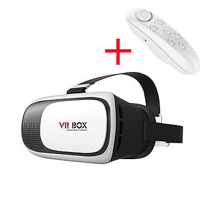 A06 3D Glasses 2nd Gen VR-BOX Headset Cardboard Virtual Reality For Smartphone