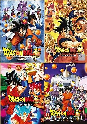 Dragon Ball Super (Episode 1 - 78) ~ 6-DVD SET ~ English Dub Version Anime