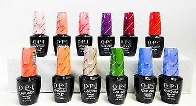 Opi Gelcolor Soak off New Orleans Collection 2016