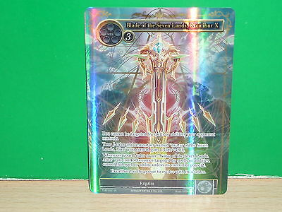 FOW Force of Will FULL ART - TMS-091 Blade of the Seven Lands, Excalibur X