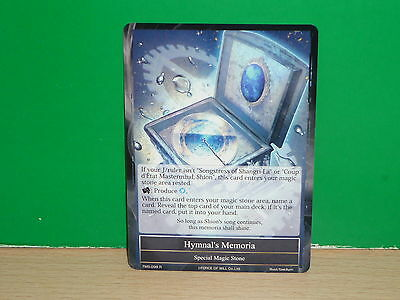FOW Force of Will - TMS-098 Hymnal's Memoria