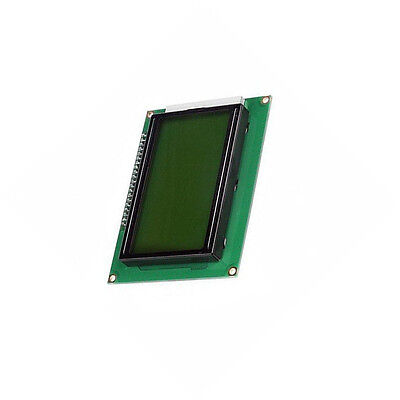 2x 5V 12864 LCD Display Module 128x64 Dots Graphic Matrix Yellow green Backlight