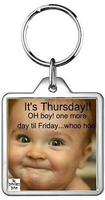 Baby Smile Smirk Thursday Weekend Excited Quotes Saying Collectors