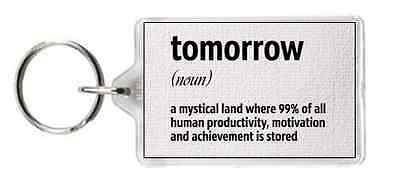 Tomorrow Dictionary Meaning Noun Mystical Motivate Saying Gift Present Novelty