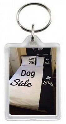 Pet Dog Sleep Most Half Bed Take Over Control Linen Duvet Cover Quotes Saying Gi