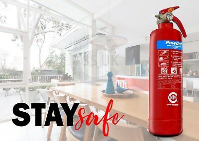 King Of The Kitchen 1 Kg Abc Powder Fire Extinguisher Home Kitchen. Ce Marked