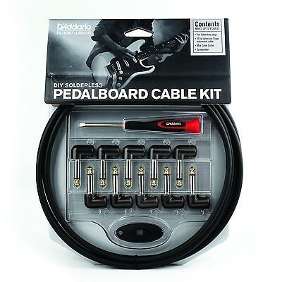 PLANET WAVES Cable Station Pedal Board Cable Kit Solderless GPKIT-10 FREE SHIP!