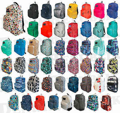 JANSPORT T501 SUPERBREAK BACKPACK Student School Bag New Black Blue Grey Red NWT