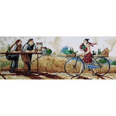 Design Works The Delivery Counted Cross Stitch Picture Kit