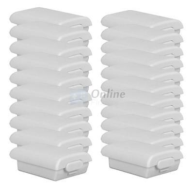 50 X White Battery Back Cover Case Shell Pack for Xbox 360 Wireless Controller