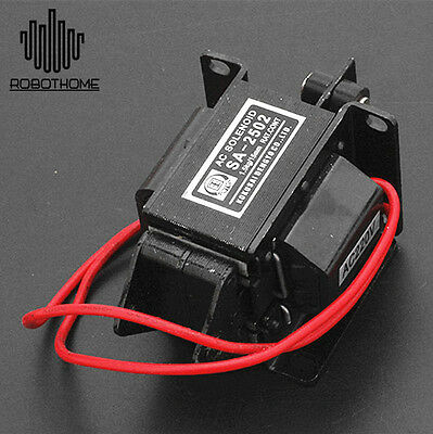 SA-2502 AC220 1.5kg/15mm AC Tractive Solenoid Electromagnet