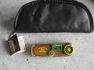 Franklin Mint John Deere 1934 Model A Tractor Folding Knife New in Bag